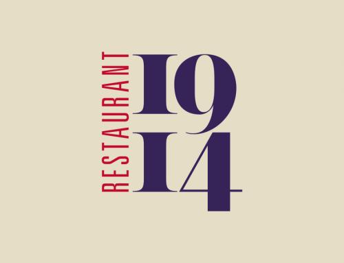 restaurant 1914 identity