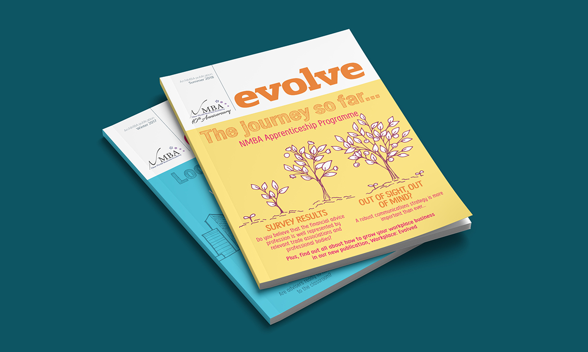 Evolve Magazine Cover
